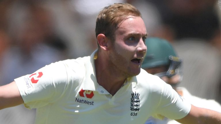 Stuart Broad is closing in on 500 Test wickets