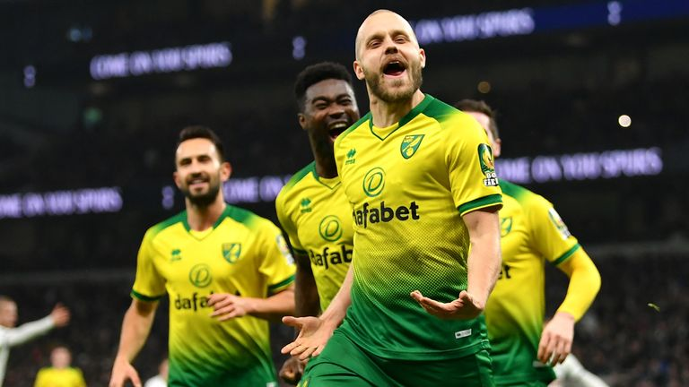 Pukki has scored 11 Premier League goals for Norwich this season