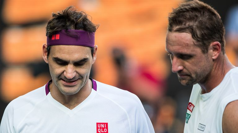 Federer was pushed to the brink of defeat by Tennys Sandgren