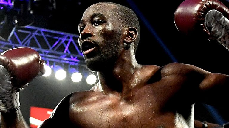 Crawford argued with Spence Jr on social media