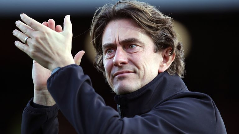 Brentford head coach Thomas Frank has signed a new deal