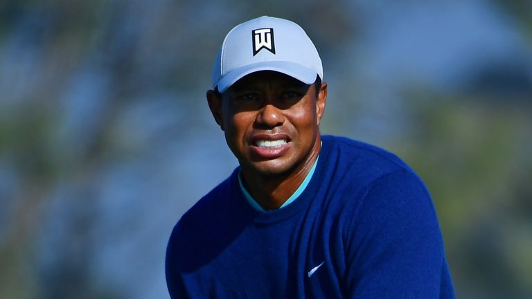 Woods is chasing a maiden career victory at the Genesis Invitational
