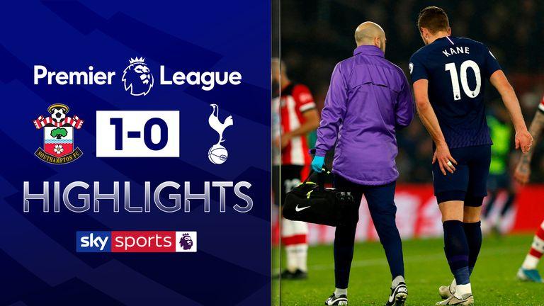 Southampton beat Tottenham