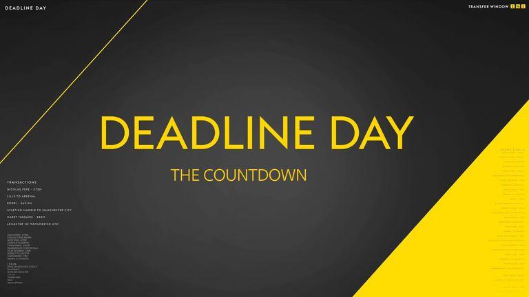 Deadline Day 2020 - The Countdown