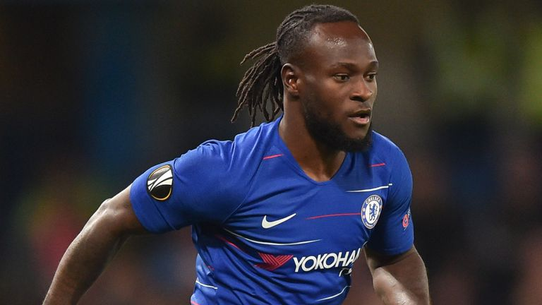 Victor Moses is set to end his seven-and-a-half-year stay at Stamford Bridge