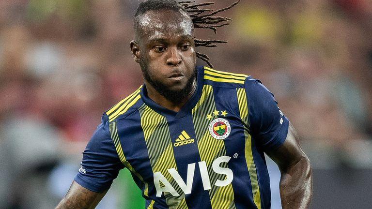 Victor Moses is on loan at Fenerbahce from Chelsea