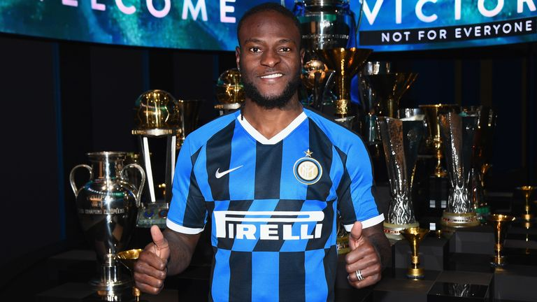 Victor Moses signs for Inter Milan on loan from Chelsea