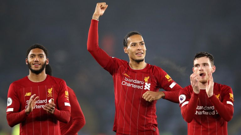 Joe Gomez, Virgil van Dijk and Andy Robertson are part of an excellent Liverpool defence