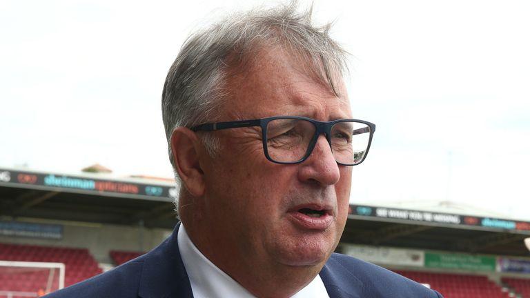 Walsall chairman Leigh Pomlett