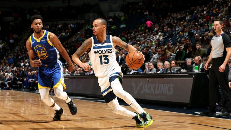 Golden State Warriors against the Minnesota Timberwolves in Week 11 of the NBA season.