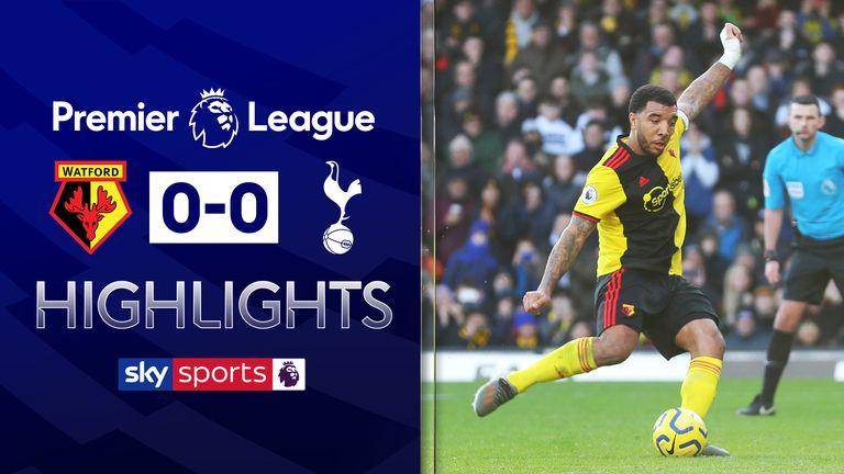 Watford 0-0 Tottenham