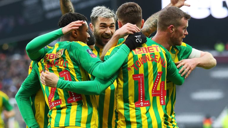 Championship side West Brom knocked out struggling West Ham