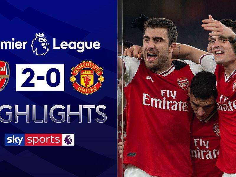 Arsenal 2 0 Man Utd Player Ratings Sokratis And Nicolas Pepe Impress Football News Sky Sports