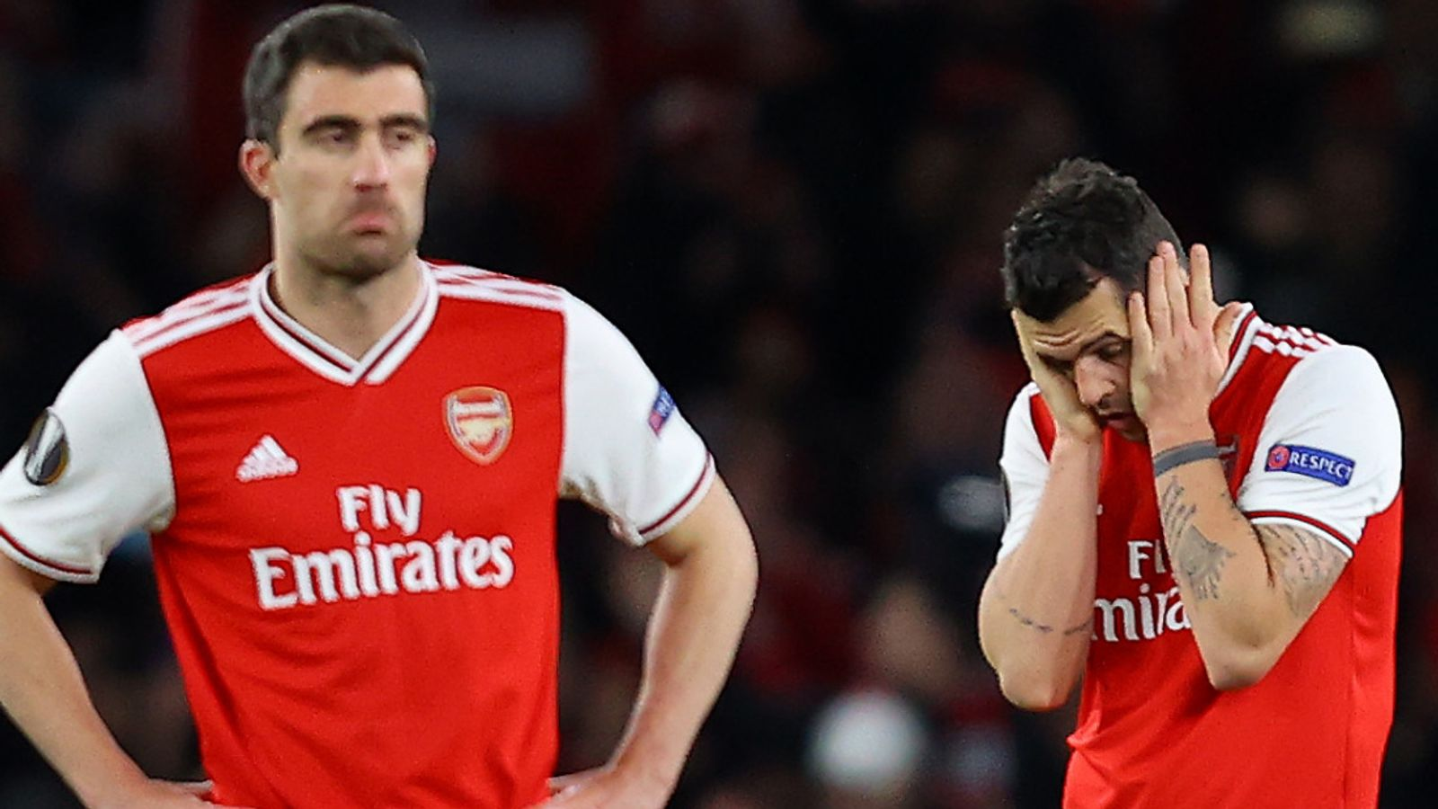 Europa League hits and misses: Mikel Arteta's huge challenge at Arsenal