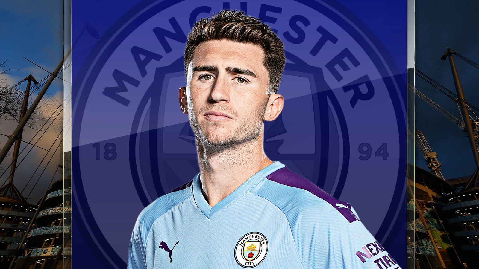 Manchester City defender Aymeric Laporte urges health to come ...