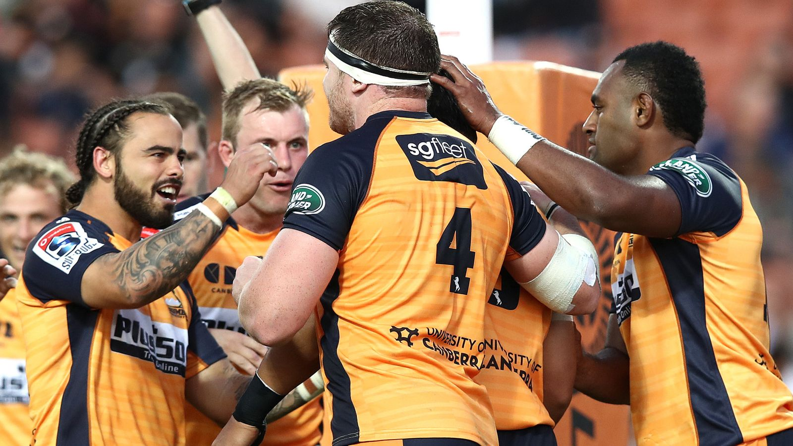 Super Rugby round-up: Brumbies win at Chiefs, Sharks at Rebels