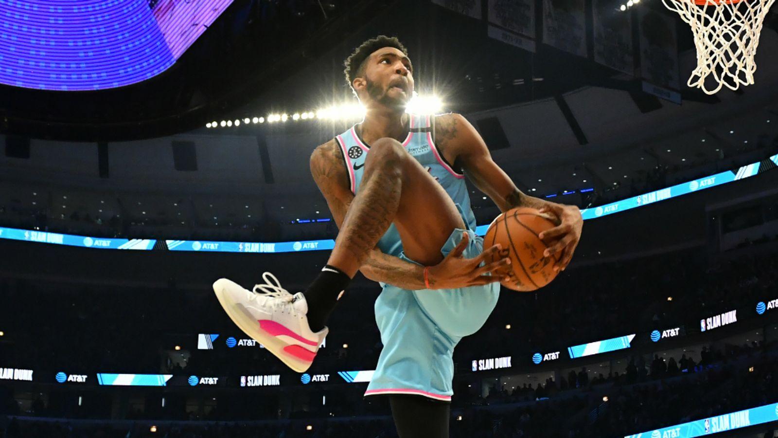Derrick Jones Jr. 'upsets' Kevin Durant in NBA 2K Players Tournament
