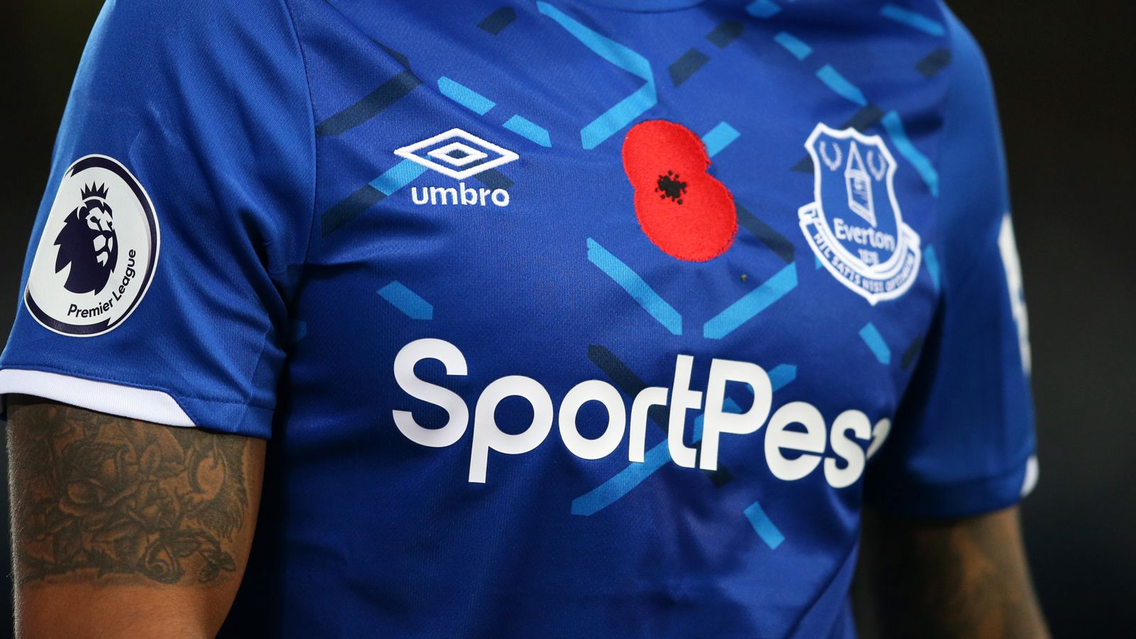 Everton End Shirt Sponsorship Deal With Online Betting Firm Sportpesa Football News Sky Sports