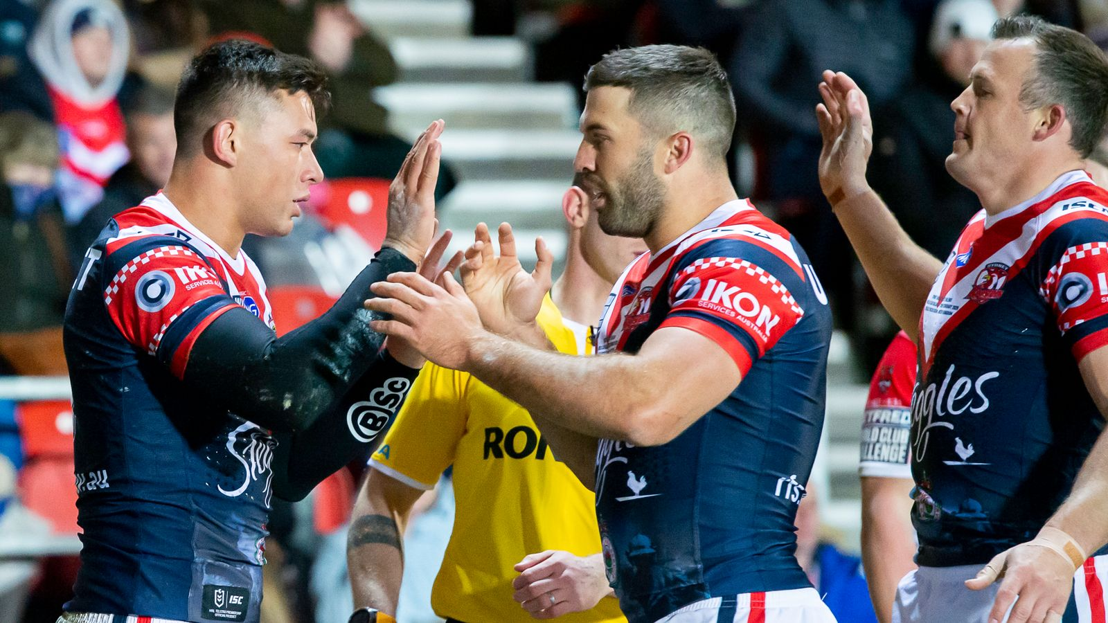 St Helens 12-20 Sydney: Brave Saints fall short against Roosters