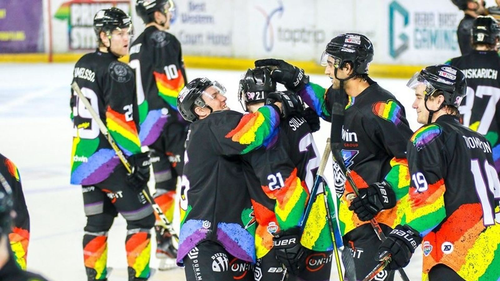 Zach Sullivan on coming out in ice hockey and his Manchester Storm team-mates' support