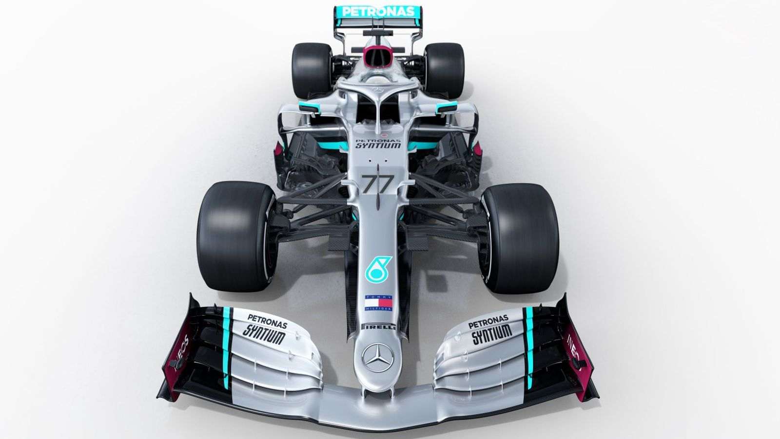 Mercedes unveil car for F1 title defence in 2020