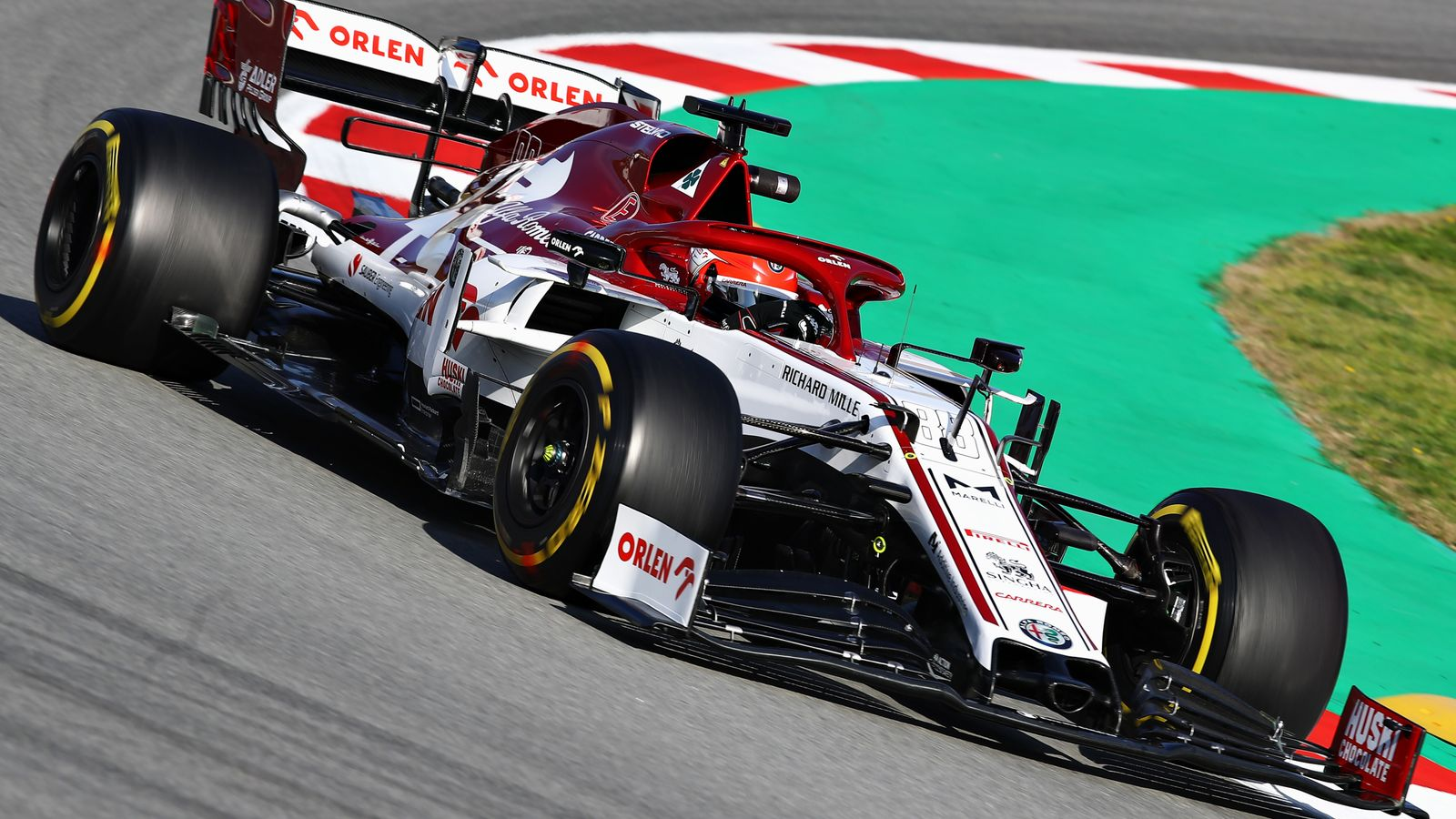 F1 Testing, Test Two Day One: Robert Kubica ahead for Alfa Romeo