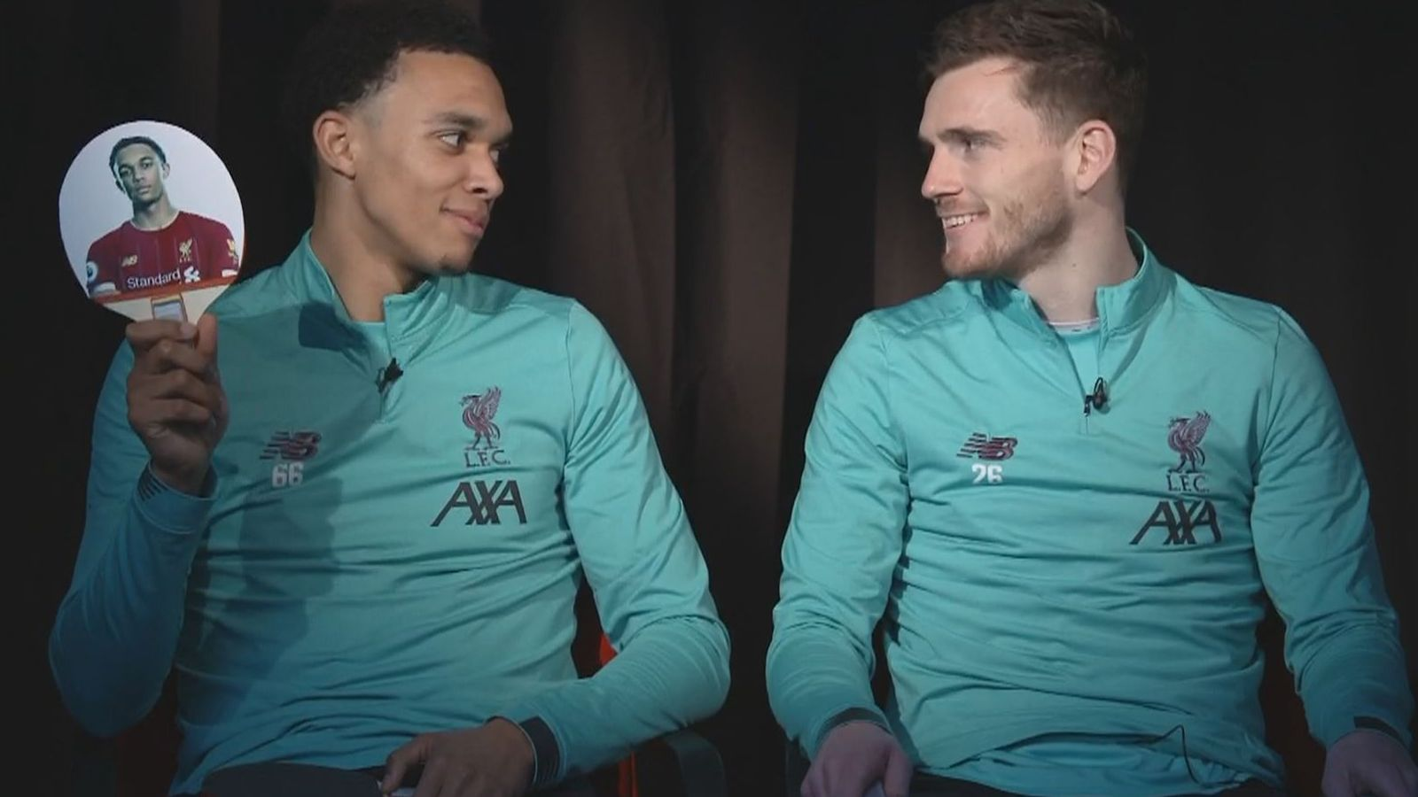 Trent Alexander-Arnold and Andy Robertson on defending, Liverpool's success and their relationship