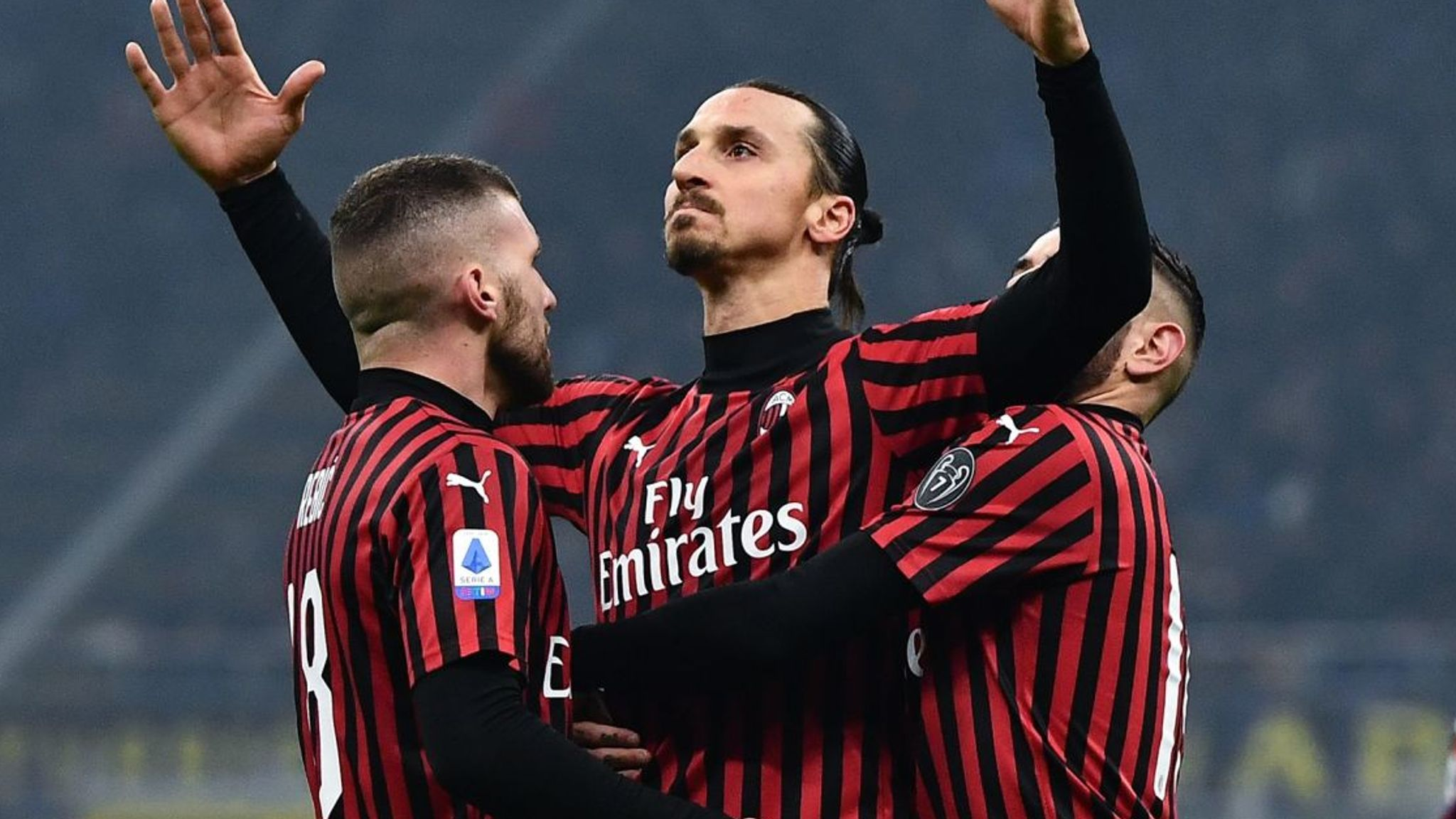 Zlatan Ibrahimovic Unsure Over Ac Milan Future With Contract About To Expire Football News Sky Sports