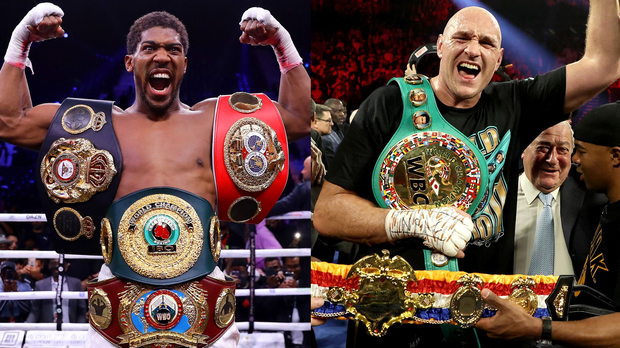 Anthony Joshua's plan for Tyson Fury fight this year disrupted by ...