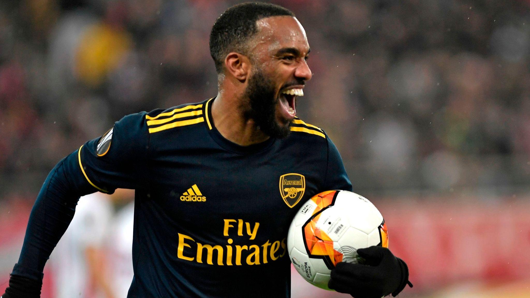 Olympiakos 0-1 Arsenal: Alexandre Lacazette gives Gunners Europa League last-32 advantage