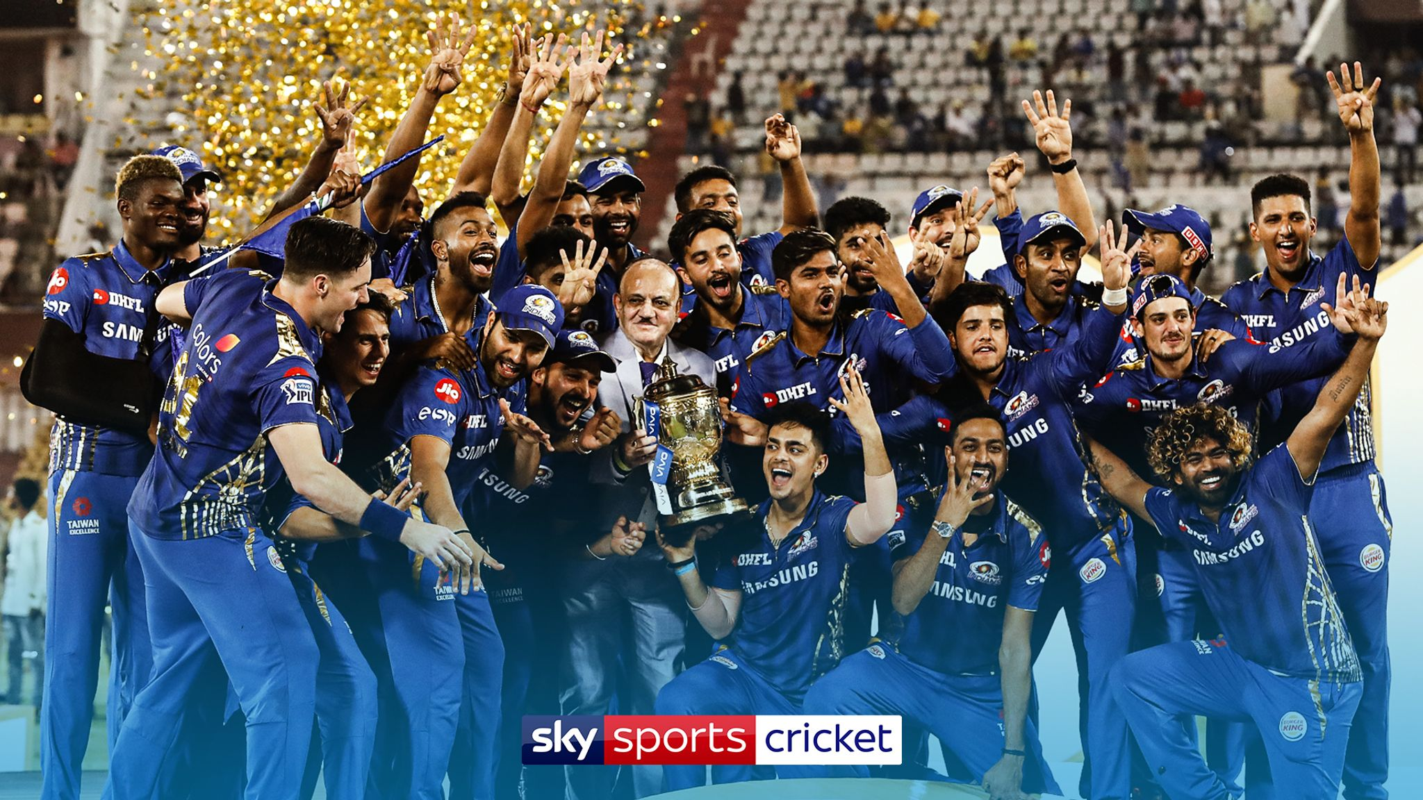 Ipl Returns To Sky Sports In 2020 As Part Of A Three Year Contract Cricket News Sky Sports