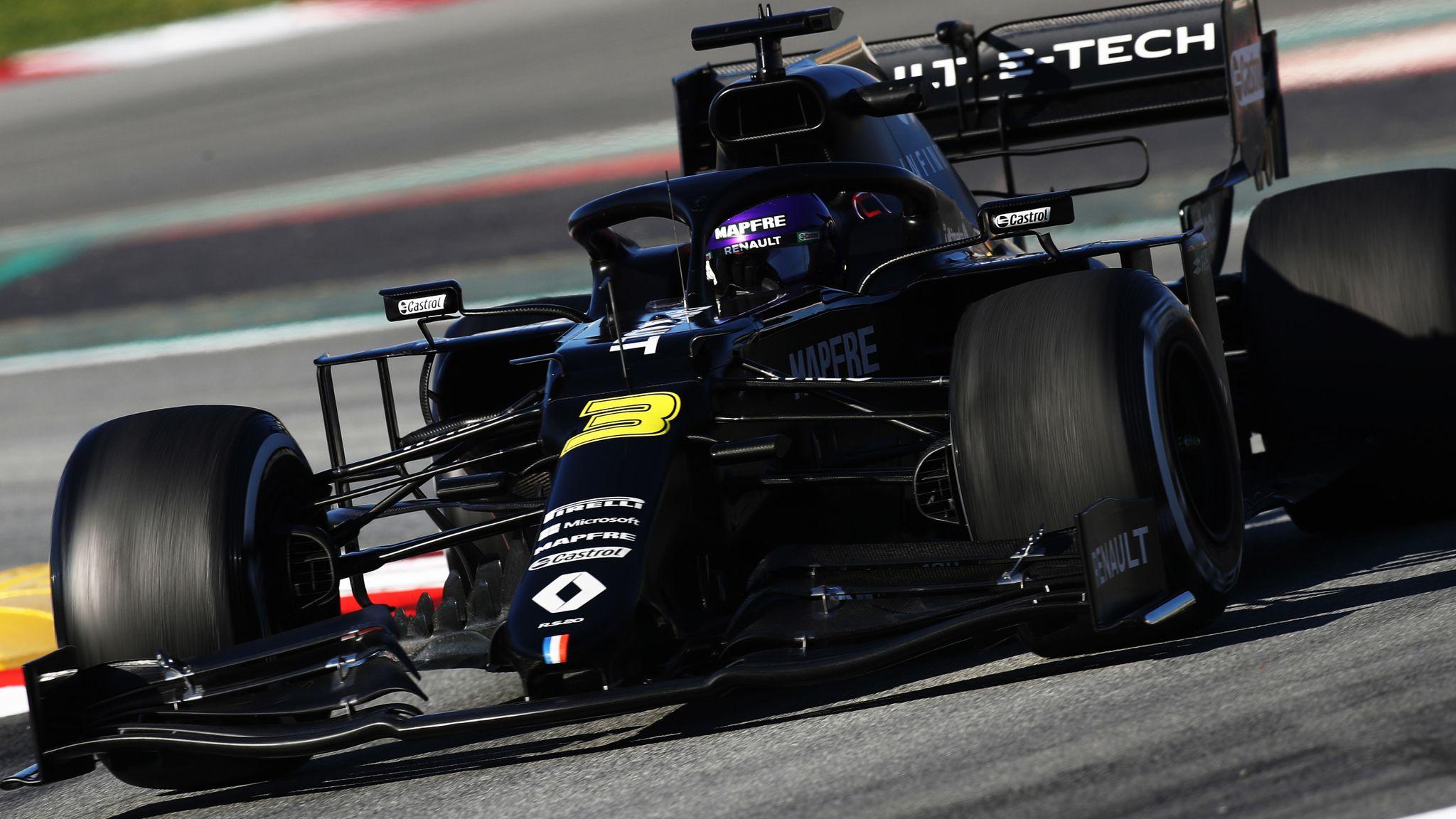 F1 Testing Test Two Day Three Am Daniel Ricciardo Ahead For Renault F1 News