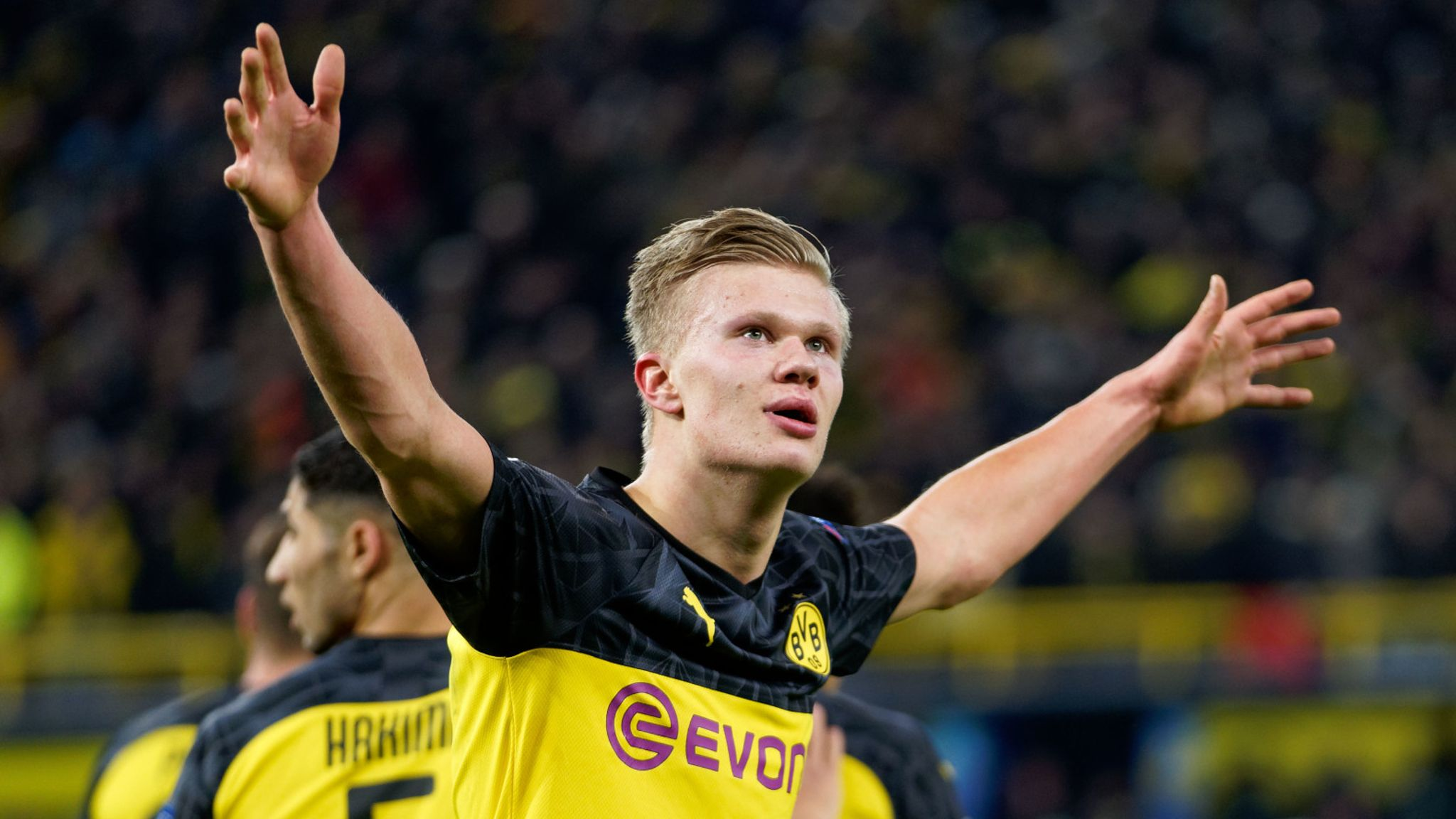 Erling Haaland The Numbers Behind His Incredible Start At Borussia Dortmund Football News Sky Sports