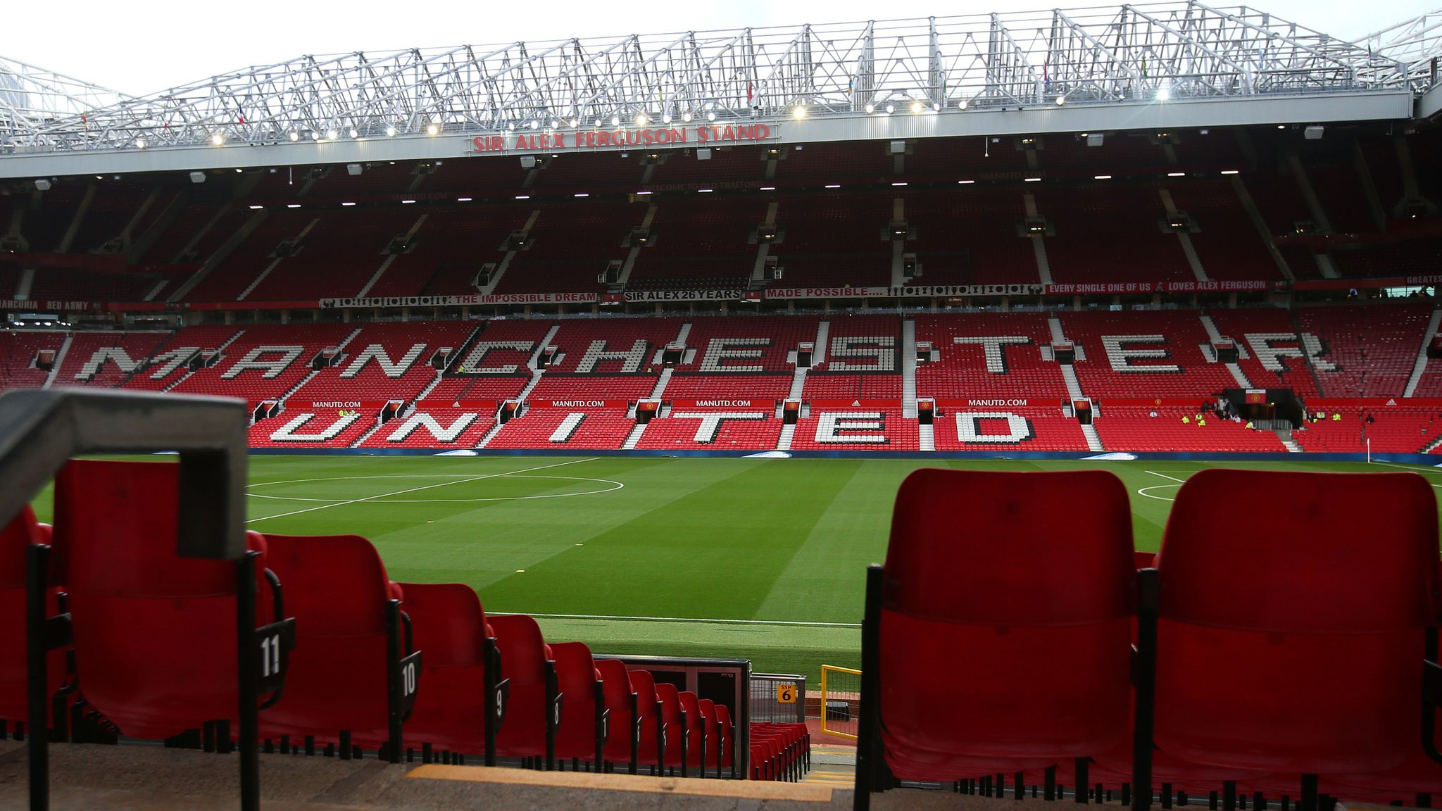 Manchester United Request Permission For Safe Standing At Old