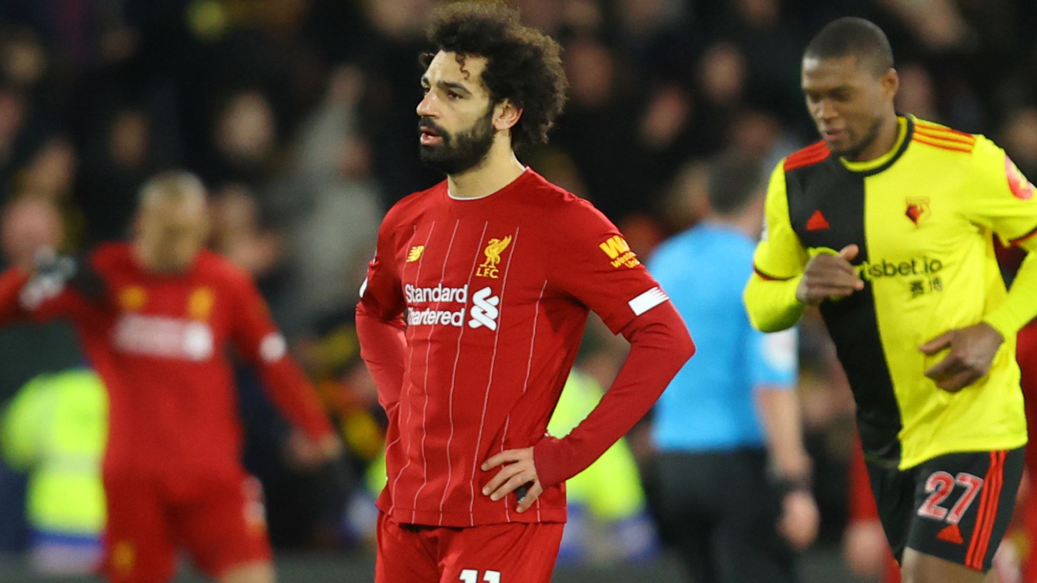 Image result for liverpool lost watford