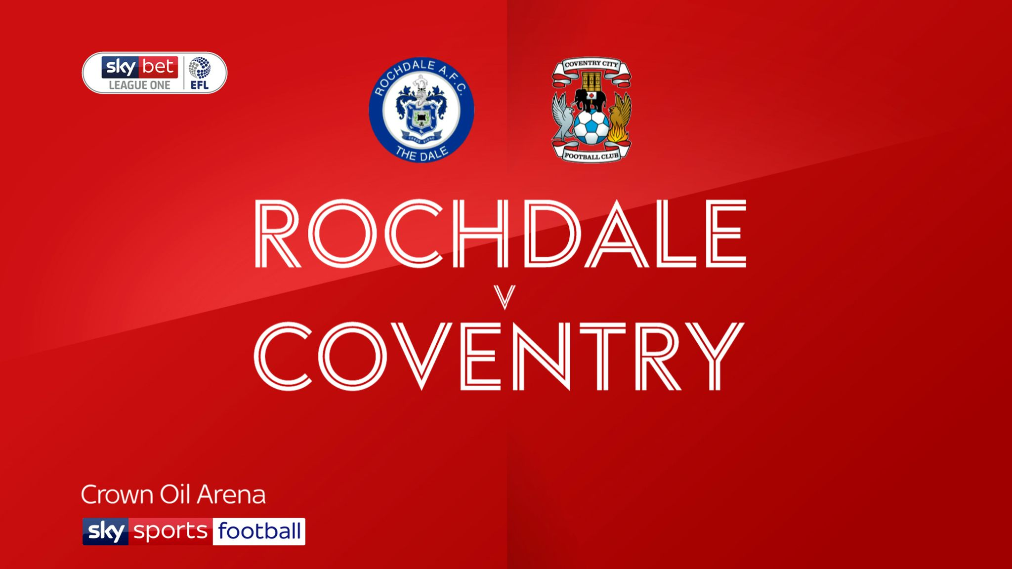 Rochdale 1-2 Coventry: Sky Blues move second in League One