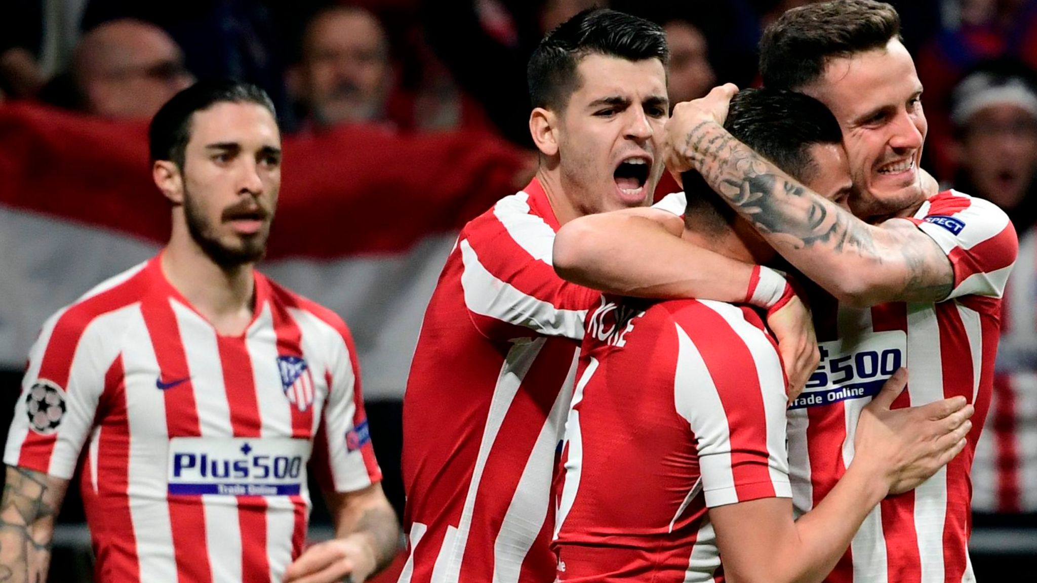 Atletico Madrid 1-0 Liverpool: Early goal means rare defeat for champions in first leg