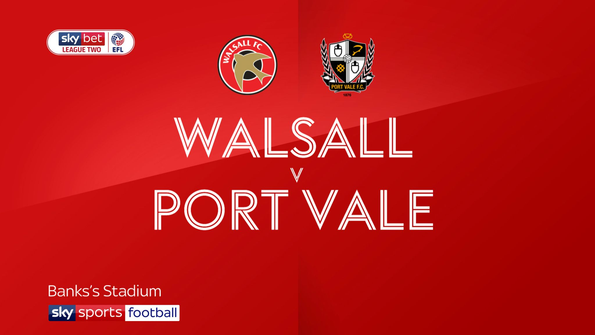 Walsall 2-2 Port Vale: Josh Gordon seals Saddlers fightback