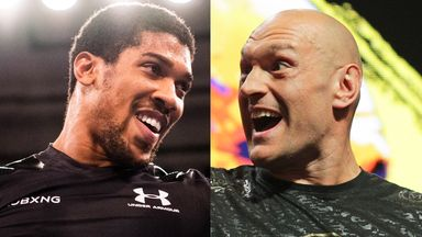 Anthony Joshua and Tyson Fury are set to fight on August 14