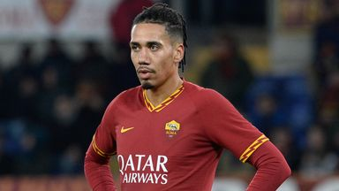 Chris Smalling is enjoying his time at Roma