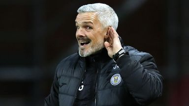 St Mirren boss Jim Goodwin has got the club moving in the right direction