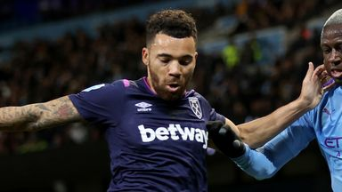 Ryan Fredericks is facing a spell on the sidelines after injuring his shoulder against Manchester City