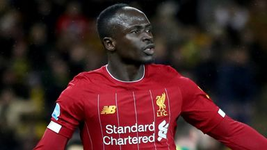 Sadio Mane's second-half goal gave Liverpool victory at Norwich