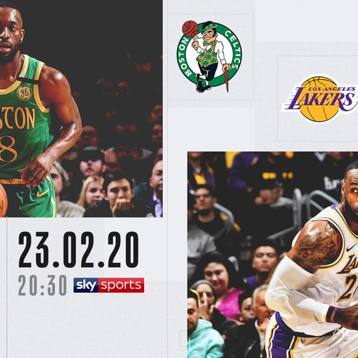 Watch Celtics @ Lakers free on Sky Sports