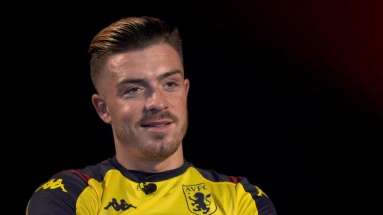 Jack Grealish speaks to Sky Sports
