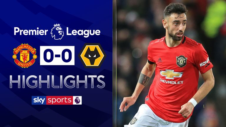 FREE TO WATCH: Highlights from Manchester United's draw with Wolves in the Premier League
