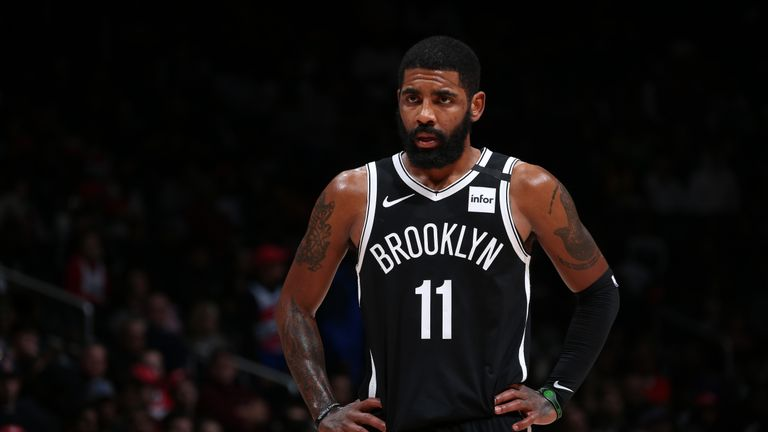 Nets' Irving out at least one week with sprained knee