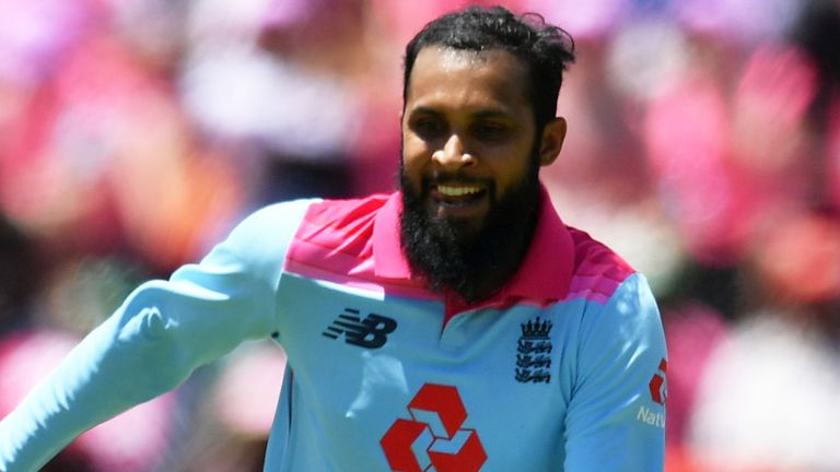 Adil Rashid took three wickets to help England level the series 1-1