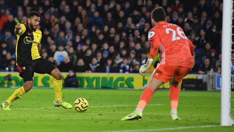Adrian Mariappa scored past his own goalkeeper to hand Brighton a draw