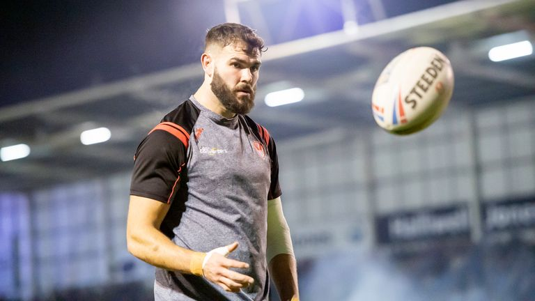 Alex Walmsley is fit to play for St Helens against Hull FC